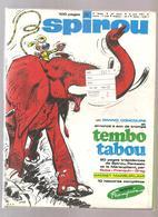 Spirou Lot De 10 Spirou Magazine Du N°1721 Au N°1723, 1725 à 1727, 1729 à 1732 34 ème Année De 1971 Lot 35 - Spirou Magazine