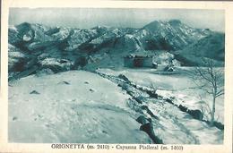 813-2C RIFUGIO CAPANNA PIALERAL IN GRIGNA - Altre Città
