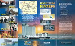 Riverside Resort Hotel & Casino - King Of Clubs Rewards Brochure - Casino Cards