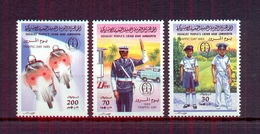 Libya 1983 - Stamps  3v - Traffic Day -  MNH** Excellent Quality - Libya