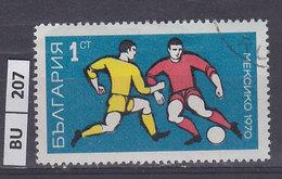 BULGARIA    1970calcio Campionato Del Mondo 1 St Usato - Gebraucht