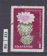 BULGARIA    1970cactus 1 St Usato - Gebraucht