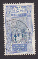 French Guinea, Scott #77, Used, Ford At Kitim, Issued 1912 - French Guinea (1892-1944)