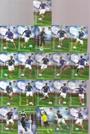 Magnets Lot De 21 Magnets Des Joueurs De L'équipe De France De Football De La Coupe Du Monde 2010 Offerts Par Carrefour - Sports