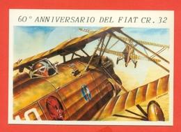 60° ANNIVERSARIO PRIMO VOLO FIAT CR. 32 - AEREI - 1919-1938: Fra Le Due Guerre
