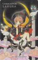 Télécarte NEUVE Japon / 110-016 - MANGA - CLAMP - CARDCAPTOR SAKURA - ANIME MINT Japan Phonecard - 10328 - BD