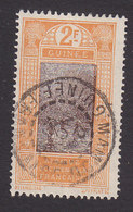 French Guinea, Scott #101, Used, Ford At Kitim, Issued 1912 - French Guinea (1892-1944)
