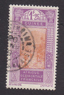 French Guinea, Scott #98, Used, Ford At Kitim, Issued 1912 - French Guinea (1892-1944)