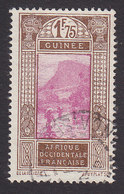 French Guinea, Scott #100, Used, Ford At Kitim, Issued 1912 - French Guinea (1892-1944)