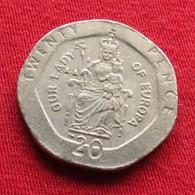Gibraltar 20 Pence 1999 KM# 777  Gibilterra - Gibraltar
