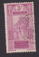 French Guinea, Scott #102, Used, Ford At Kitim, Issued 1912 - French Guinea (1892-1944)