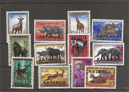 Katanga - Animaux ( 6/17 XXX -MNH) - Katanga