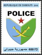 Z08 DJB18716a Djibouti 2018 National Police MNH ** Postfrisch - Djibouti (1977-...)