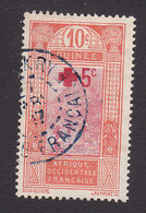 French Guinea, Scott #B1, Used, Ford At Kitim Surcharged, Issued 1915 - French Guinea (1892-1944)
