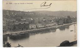 13.Tilff  . - Quai De L'Ourthe Et Panorama 1905 - Esneux