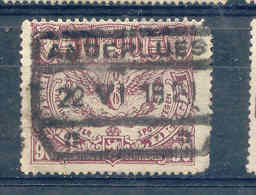 B987  Belgie Spoorwegen Chemin De Fer  Stempel ANDERLUES - 1915-1921