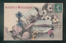 CP (82) Amitiés De Montauban  -  Multi-vues - Montauban