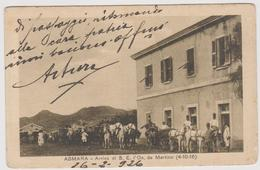Asmara - Arrivo Di S. E. On. De Martino Il 4 Ottobre 1916 - F.p. - Anni '1910 - Eritrea