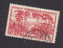 French Guinea, Scott #147, Used, Forest Waterfall, Issued 1938 - French Guinea (1892-1944)