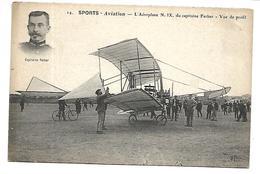 SPORTS - Aviation - L'Aéroplane N° IX Du Capitaine Ferber - Vue De Profil - ....-1914: Precursori
