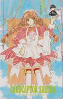 Télécarte NEUVE Japon / 110-016 - MANGA - CLAMP - CARDCAPTOR SAKURA - ANIME MINT Japan Phonecard - 10334 - BD