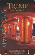 Trump Taj Mahal Casino Hotel Room Key Card Atlantic City NJ - Hotel Keycards