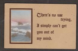 Greetings Seashore Scene - Used 1912 - Greetings From...