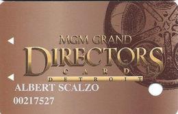 MGM Grand Casino - Detroit, MI - 1st Issue Slot Card - Casino Cards