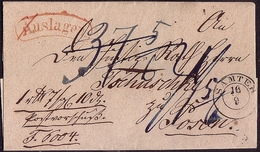 Pommern Germany Poland 1851, Auslagen Letter From Samter - Szamotuly To Posen - Poznan W379 - Pologne