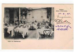 Namur. Hôtel D'Harscamp. Salle De Restaurant 1905 - Namen