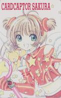 Télécarte NEUVE Japon / 110-016 - MANGA - CLAMP - CARDCAPTOR SAKURA - ANIME MINT Japan Phonecard - 10338 - BD