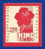 CINDERELLA : NETHERLANDS : POSTZEGELS / BRIEFKAARTEN VOOR HET KIND - Cinderellas
