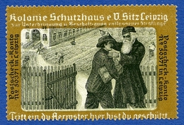 CINDERELLA : GERMANY - LEIPZIG - KOLONIE SCHUTZHAUS - Cinderellas