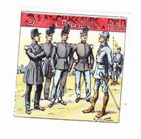 Vignette Militaire Delandre - 3ème Bataillon De Chasseurs à Pied - Erinofilia
