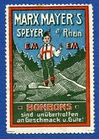 CINDERELLA : GERMANY - SPEYER A/RHEIM - MARX MAYER - BONBONS - Cinderellas