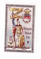 Vignette Militaire Delandre - Camp Retranché De Paris - Erinofilia
