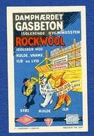 CINDERELLA : ROCKWOOL - DAMPHAERDET GASBETON - Cinderellas