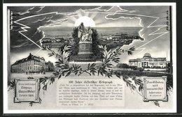 AK Göttingen, 100 Jahre Elektrischer Telegraph, Ortsansicht - Cartes Postales