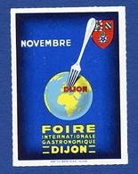 CINDERELLA : FRANCE - DIJON - FOIRE GASTRONOMIQUE, NOVEMBRE - Cinderellas
