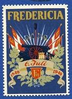 CINDERELLA : DENMARK - KOBENHAVN - FREDERICIA 1949 - Cinderellas