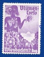 CINDERELLA : ALLEMAGNE - WIESBADEN - BLUMEN CORSA - Cinderellas