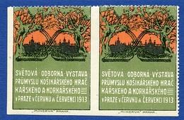 CINDERELLA : PRAG - SVETOVA 1913 (DOUBLE) - Erinnophilie