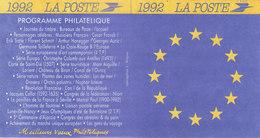 FRANCE - Programme Philatélique De 1992 - Sonstige