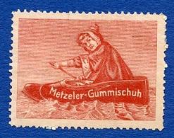 CINDERELLA : METZELER GUMMISCHUH - Erinnophilie