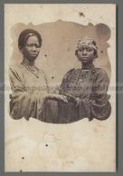 V5114 RITRATTO DI DONNE SENEGALESI DELLA REGIONE DI SAINT LOUIS Riproduzione Reproduction (m) - Senegal