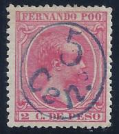 ESPAÑA/FERNANDO POO 1896/900 - Edifil #40A - MLH * - Fernando Poo
