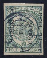 ESPAÑA/FERNANDO POO 1898 Edifil #43he - VFU - Fernando Poo
