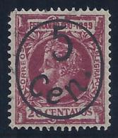 ESPAÑA/FERNANDO POO 1900 - Edifil #73 - MLH * - Fernando Po