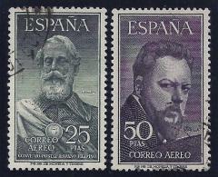 ESPAÑA 1953 - Edifil #1124/25 - VFU - 1931-Hoy: 2ª República - ... Juan Carlos I