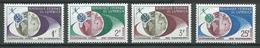 Cameroun YT N°361/364 Télécommunications Spatiales Neuf ** - Cameroun (1960-...)